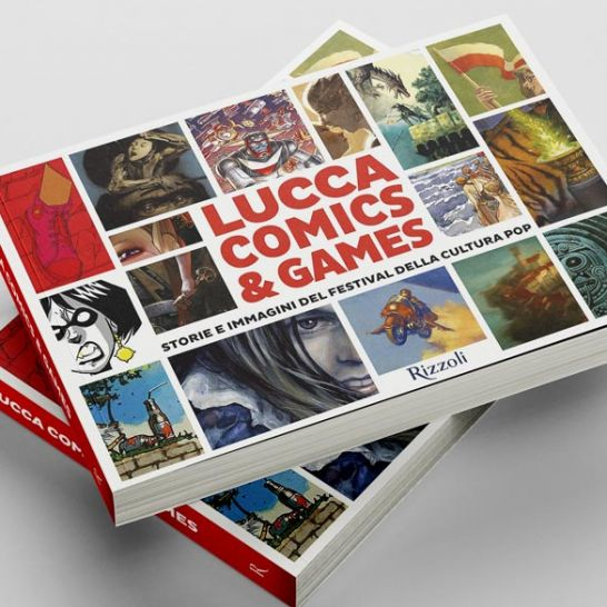 libro lucca comics and games