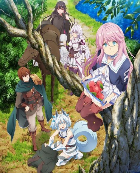 redo of healer anime poster