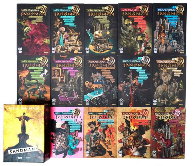sandman library panini comics