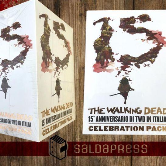 the walking dead 15 anniversario