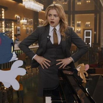 Tom Jerry Chloe Grace Moretz