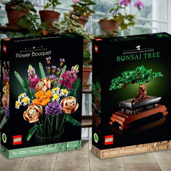 Lego collezione botanica