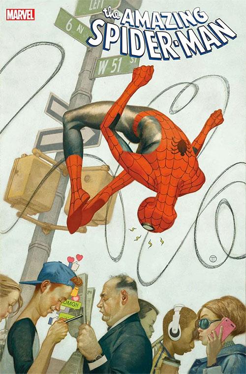amazing spider man 61 variant cover tedesco