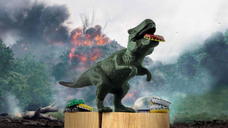 dinosauro apribottiglie
