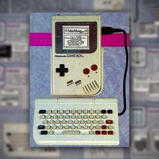 game boy tastiera accessorio