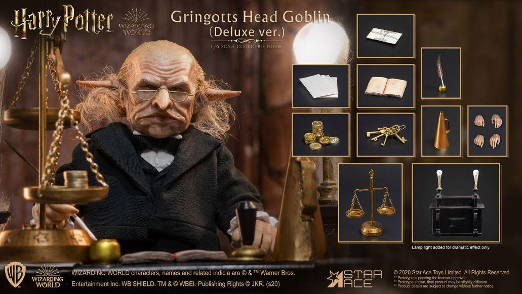 gringotts head goblin deluxe version harry potter gallery 5fd3f6fa4fd64