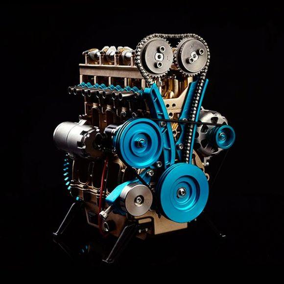 modellino motore a scoppio