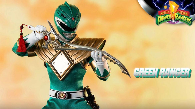 power rangers hasbro pulse green ranger