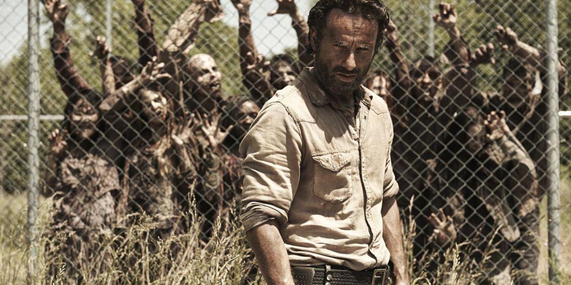 the walking dead rick grimes zombi