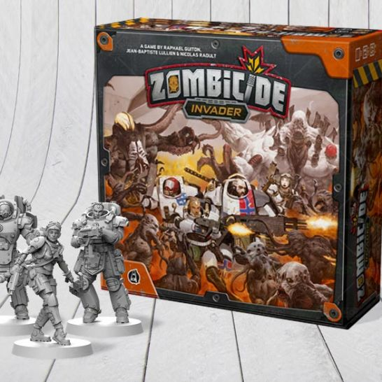 zombicide invader baraka