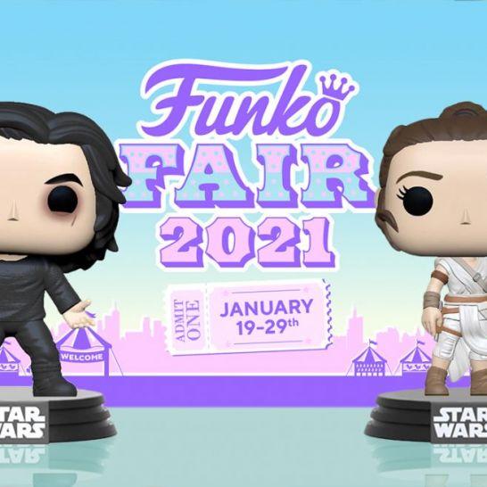 Funko Fair 2021 pop