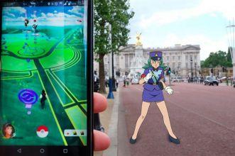 Pokemon GO polizia inglese
