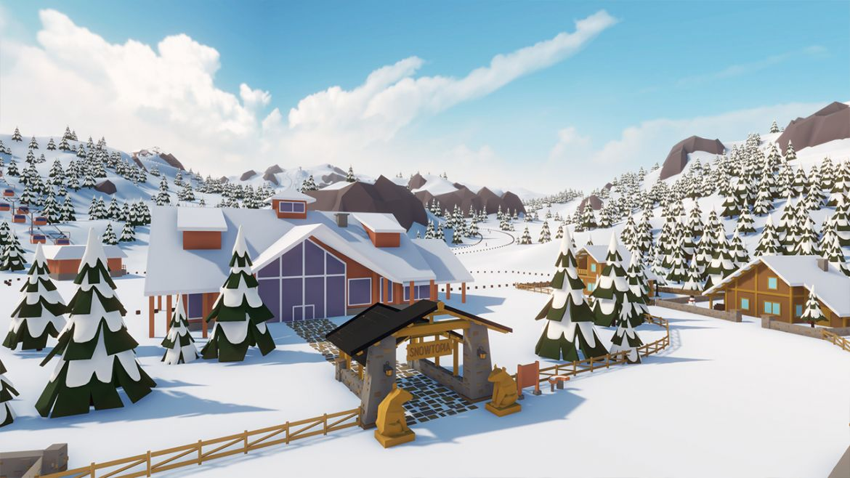 Snowtopia in game 03