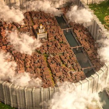 distretto di Shiganshina Minecraft
