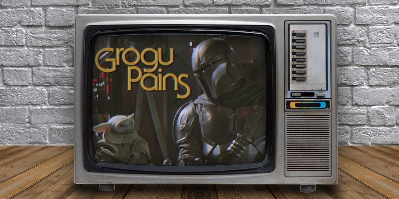 grogu pains the mandalorian