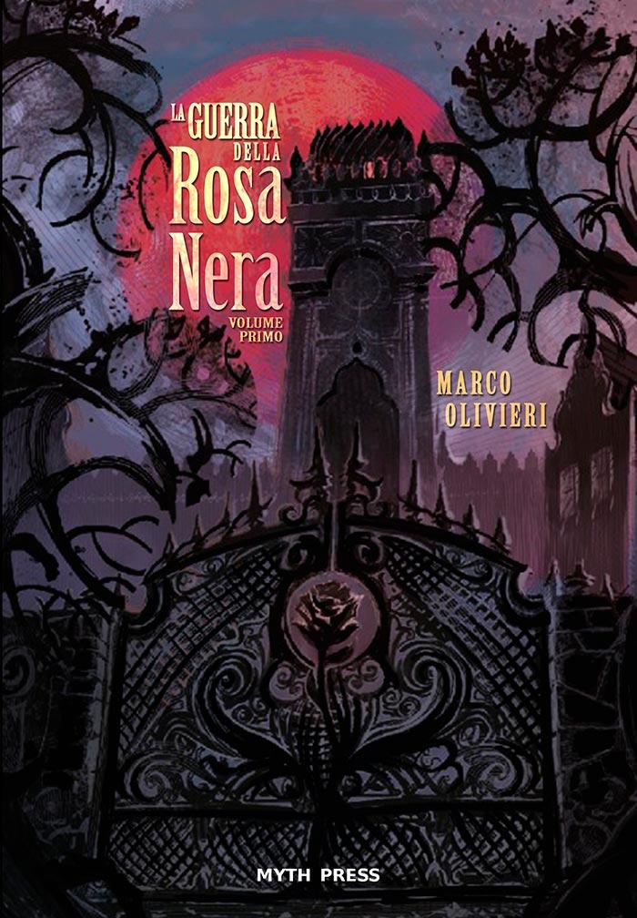 la guerra della rosa nera copertina