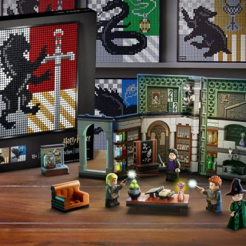 lego harry potter art