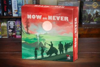 now or never Red Raven Games cover