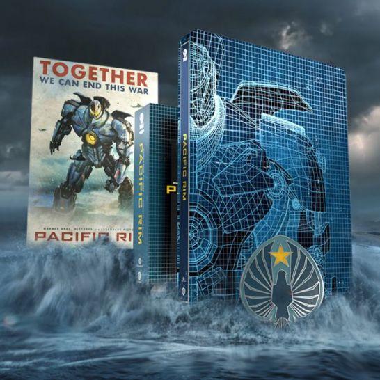 pacific rim steelbook titans of cult