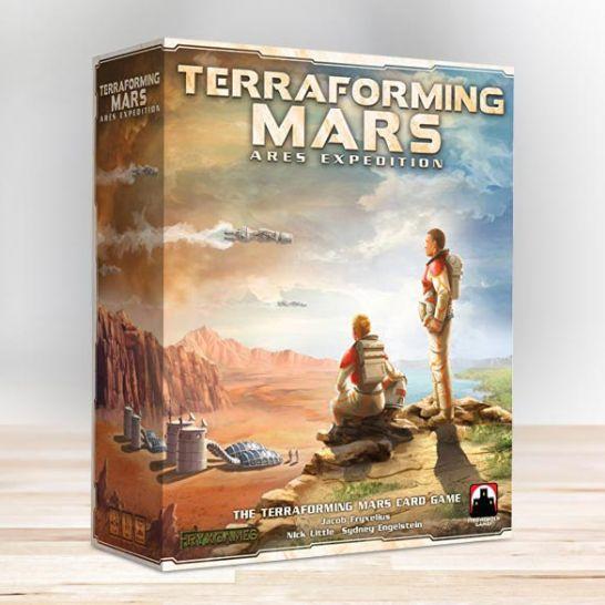 terraforming mars ares expedition card game