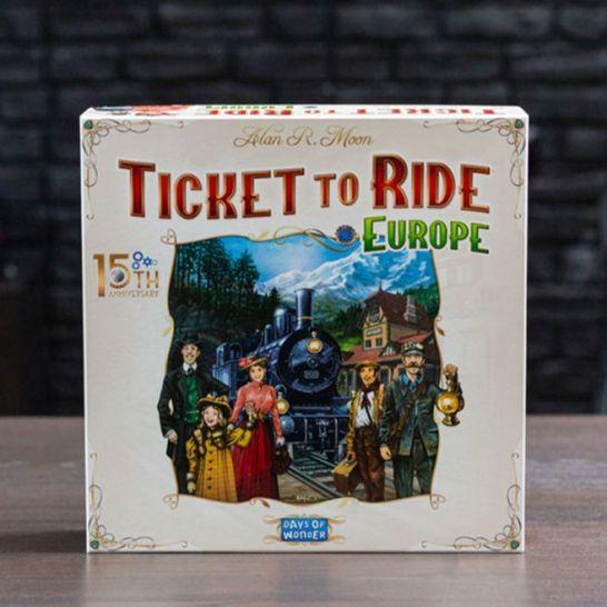ticket to ride europe 15 anniversario