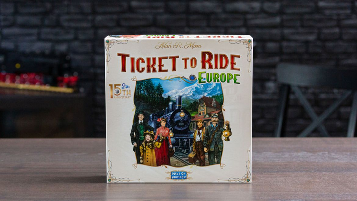 ticket to ride europe 15 anniversario