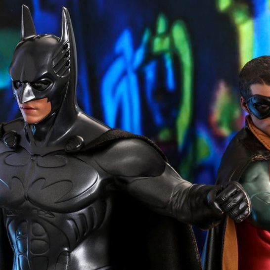 Batman Robin Hot Toys Batman Forever