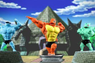 action figure pokemon palestrati