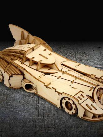 batmobile legno incredibuilds