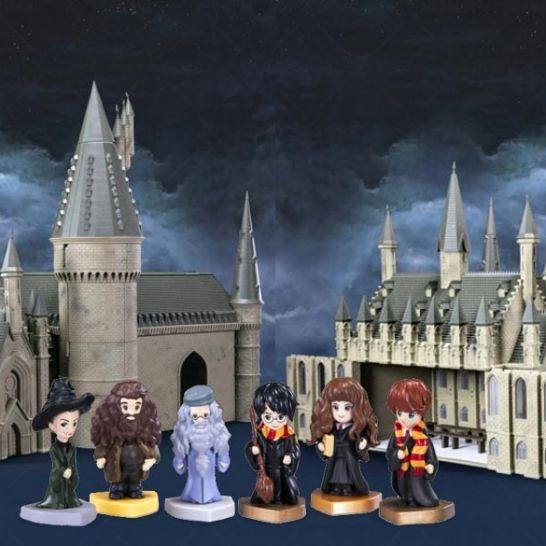 castello hogwarts harry potter da costruire