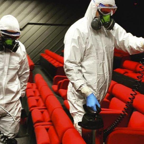 cinema sanificazione coronavirus