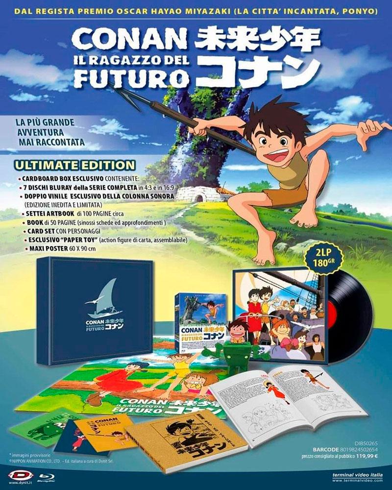 conan il ragazzo del futuro ultimate edition locandina