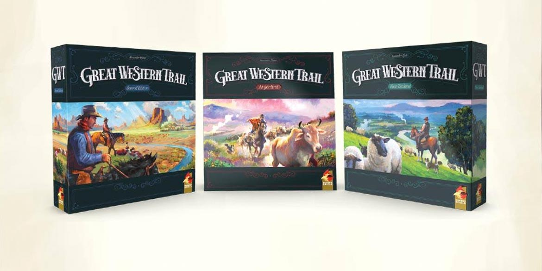 great western trail trilogia giochi da tavolo