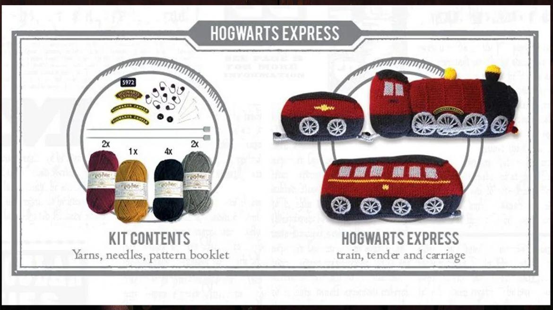 hogwarts express kit maglia dettagli