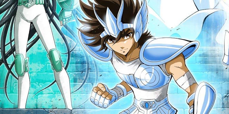 i cavalieri dello zodiaco fumetto cover