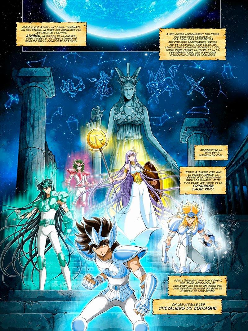 i cavalieri dello zodiaco fumetto