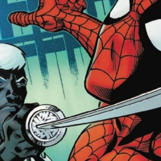 mr negative spider man cover