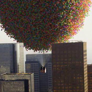 palloncini up casa pixar