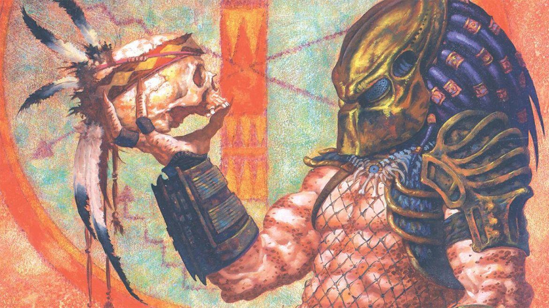 predator comanche art