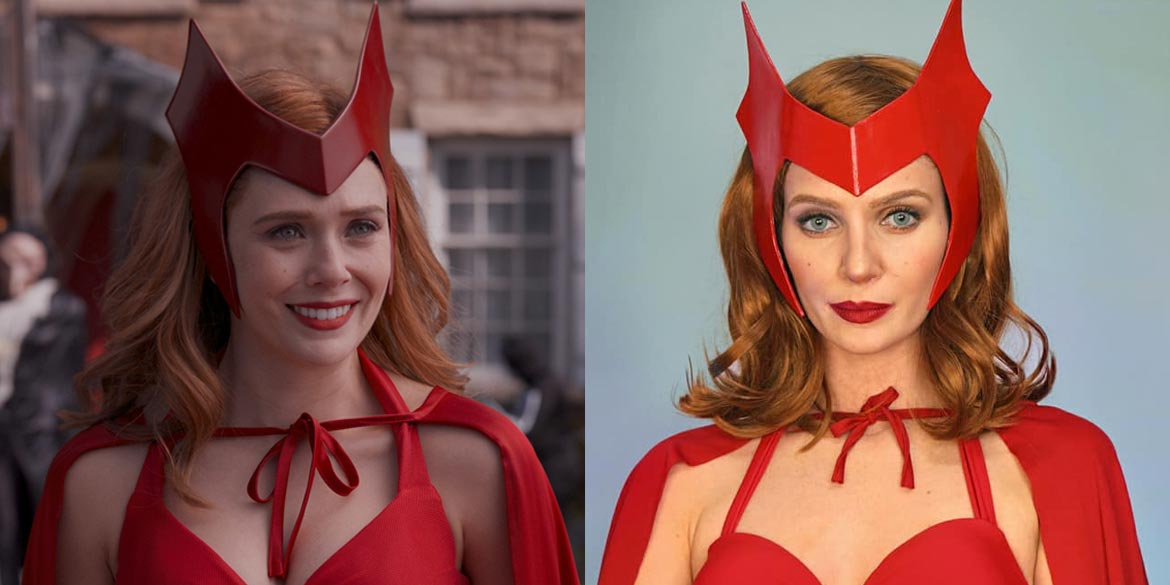 scarlet witch cosplay wandavision