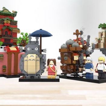 set lego ideas studio ghibli