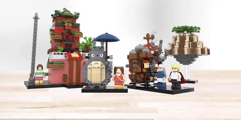 set lego ideas studio ghibli