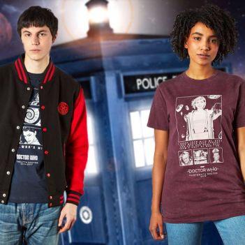 Doctor Who collezione abbigliamento