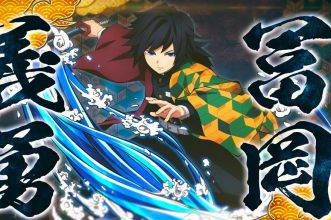 Giyu Tomioka gioco Demon Slayer