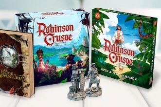 Robinson Crusoe collectors edition gamefound