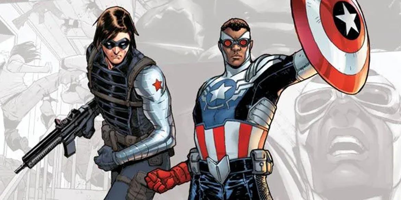 falcon and the winter soldier fumetti