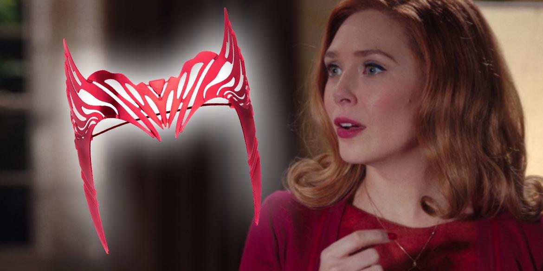 tiara wandavision scarlet witch
