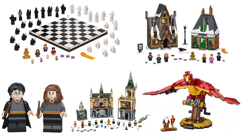 Lego harry potter 20 anniversario dettaglio