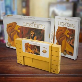 Re Leone Cartuccia Nintendo