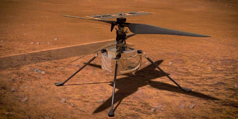 ingenuity drone marte perseverance